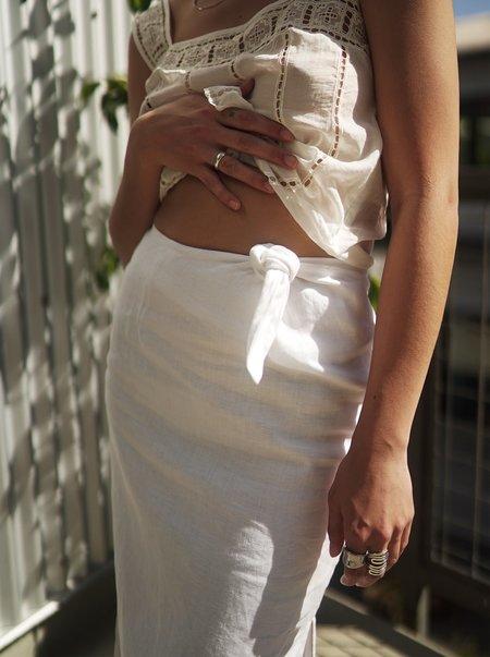 Arthur Knotted Skirt