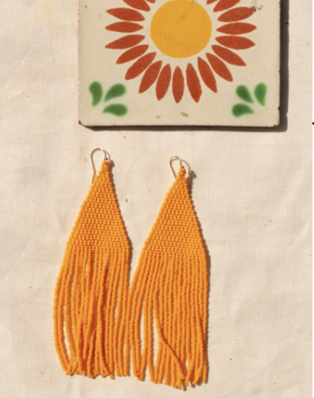 Casa Clara Lily Earring - Clementine