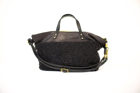 Kempton and Co. Devon Holdall - Chocolate Shearling