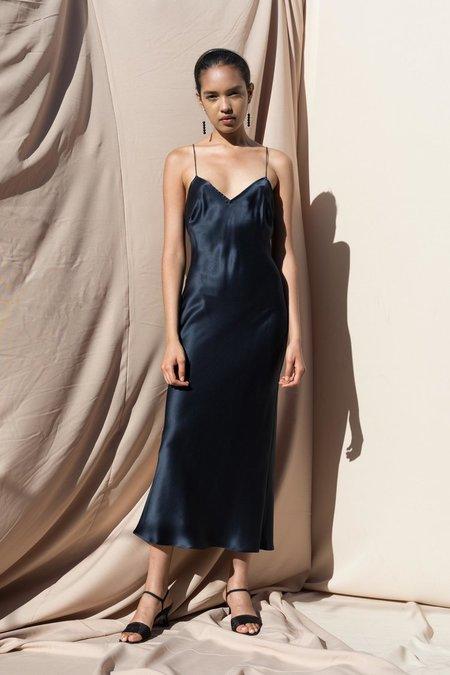 Pari Desai sandoval laced slip dress - MIDNIGHT NAVY