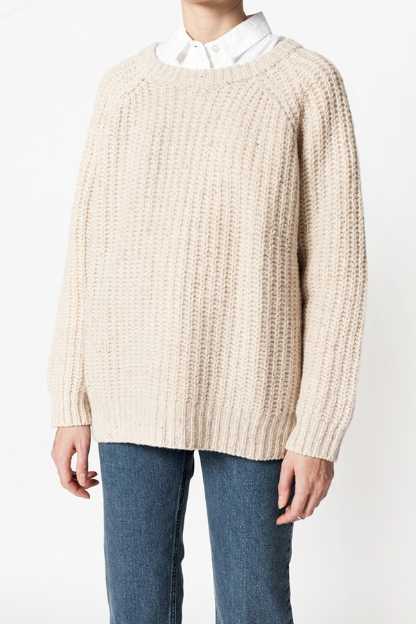 Ganni Chelsea Market Sweater - vanilla