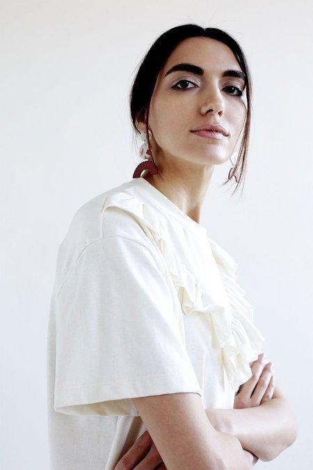Elise Ballegeer Ruffled Agnes Dress