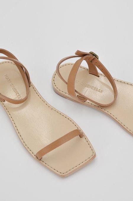 Mari Giudicelli Valencia Flat Sandal - Tan