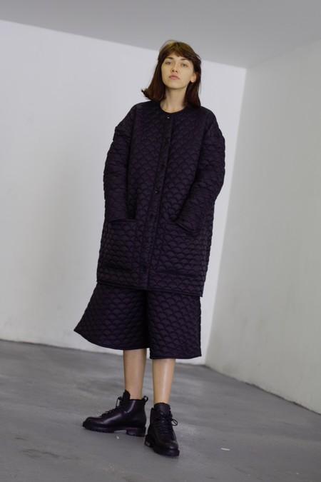 FEIT Whipstitch Wool Hiker - Black