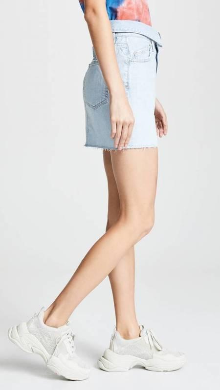 Jean Atelier Flip Skirt - Sky