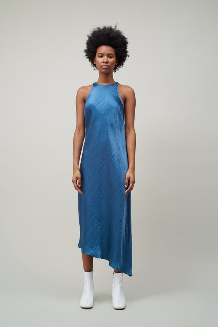 Nomia Racerback Bias Dress - Lagoon