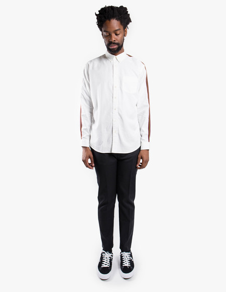 Schnayderman's Leisure Tape Tencel One Shirt - white