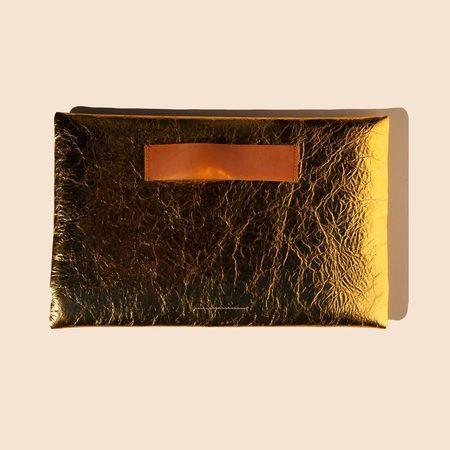 MM6 Medium Zip Pouch - Gold