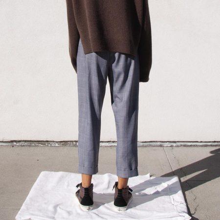 MM6 Drop Crotch Pants - Check