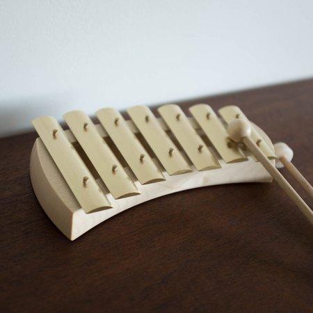 Shop Merci Milo Seven Tone Glockenspiel Xylophone - BRASS