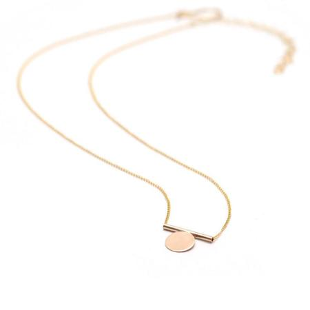 Favor Mono Necklace - Gold