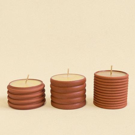 Lindsey Hampton Terracotta/Beeswax Candles