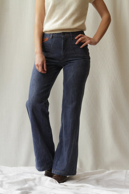 Vintage Neiman Marcus Corduroy Side Wide Leg Jeans