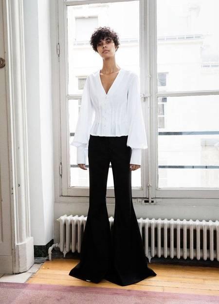 Anna Quan Sylvie Shirt - WHITE