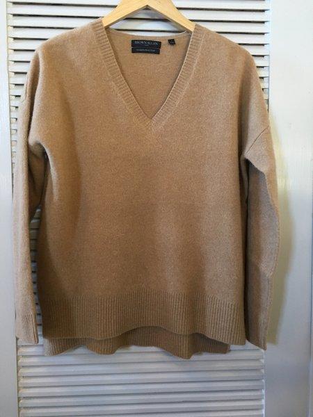 Brown Alan V-Neck Sweater