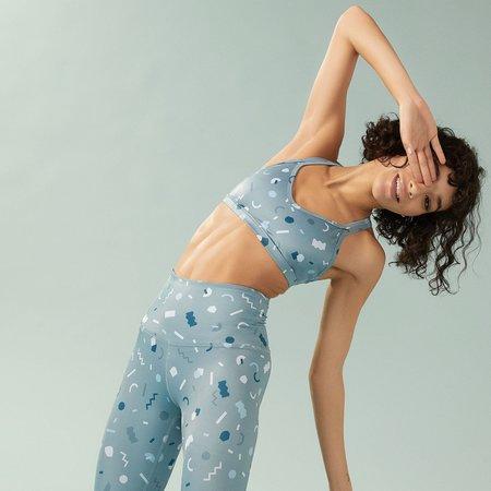 BY Beyond Yoga x Poketo Double Back Bra - Lux Print