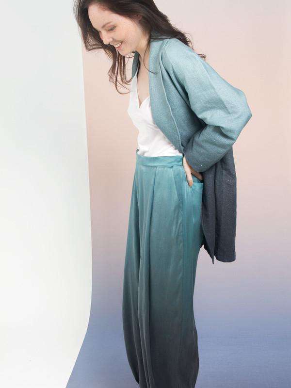 Calico x Swords-Smith x Print All Over Me Aurora Linen Cocoon