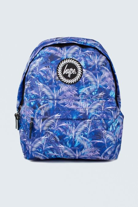 HYPE BACKPACK - BLUE PALM
