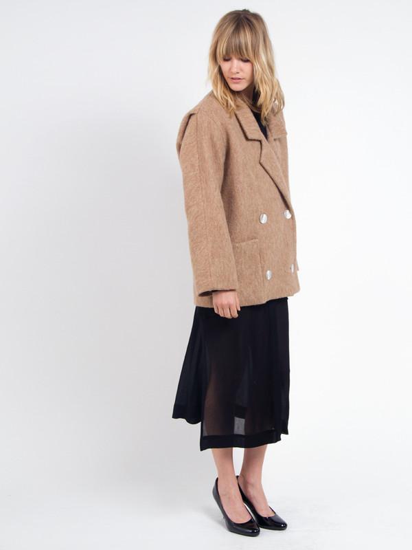 Brandy Pea Coat