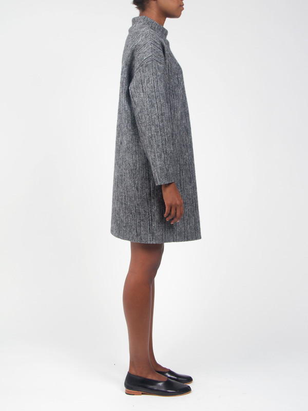 CF Goldman Buckle Sweater Dress Grey
