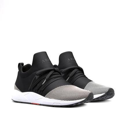 ARKK Raven Mesh Sneaker - Black/White