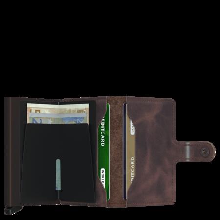SECRID RFID Miniwallet - Vintage Chocolate