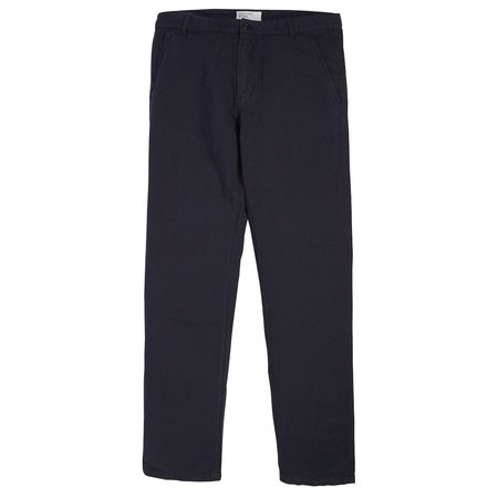 Universal Works Broadcloth Aston Trouser - Navy