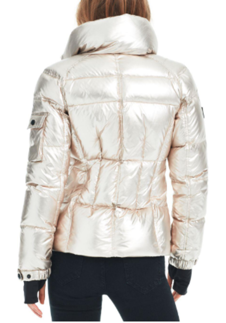 S.A.M New York Freestyle Jacket - White/Gold