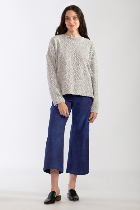 North Of West Pebble Knit Sweatshirt - Cream