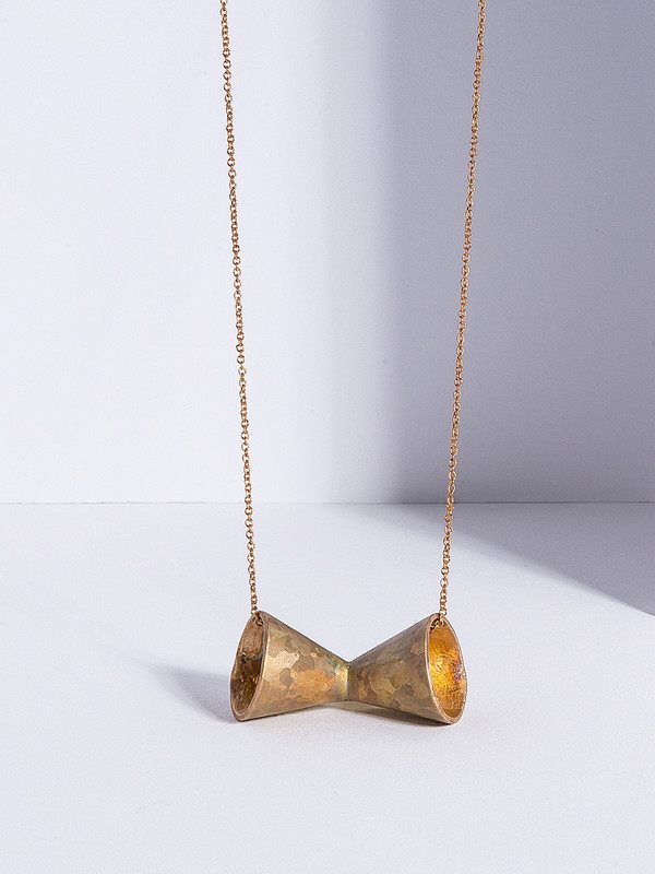 Metalepsis Projects Megaphone Necklace