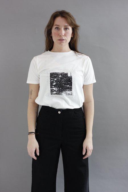Unisex REVIVAL Vintage Photo T-shirt - White