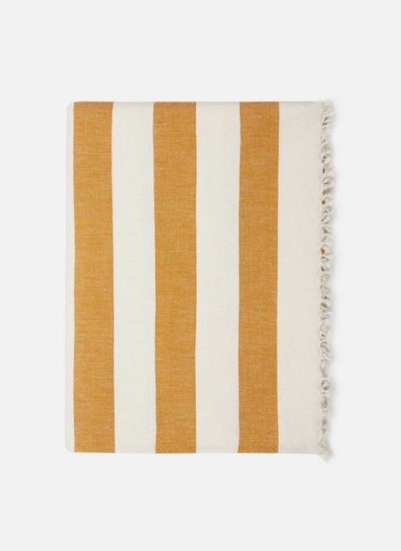 Heather Taylor Home Milos Goldenrod Tablecloth