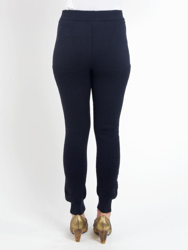 Navy Sweater Pants