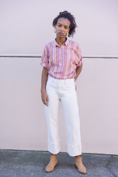 Mother Denim Mother Jeans The Dusty Cuff Fray Jeans - Act Natural