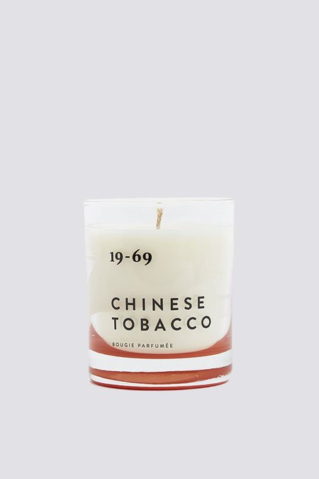 19-69 Chinese Tobacco Candle - white