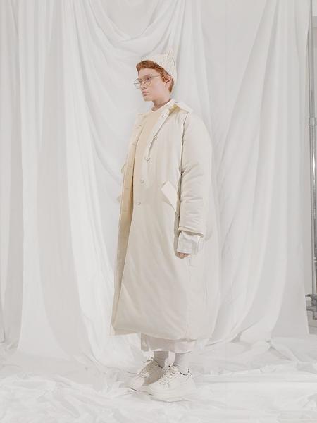 101MOON Padding Coat - Beige