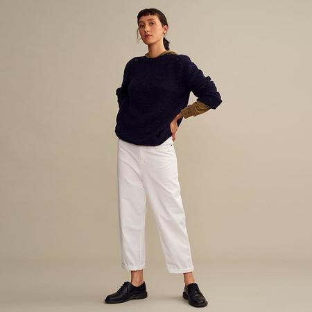 Polder Ted Pullover Sweater - Navy Blue