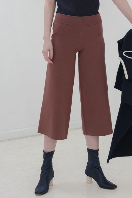 Nomia Cropped Culottes - Clay