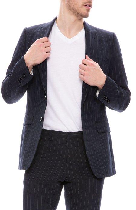 Dries Van Noten Slim Suit Jacket - Striped