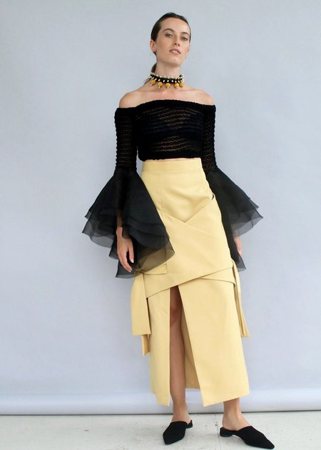 MmusoMaxwell Knotted Skirt
