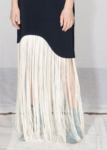 Nomia Curved Fringe Dress