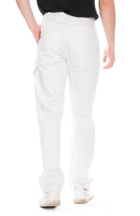 Acne Studios Cotton Trousers - Cold White