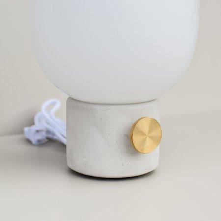 Menu JWDA Lamp - Concrete/Brass