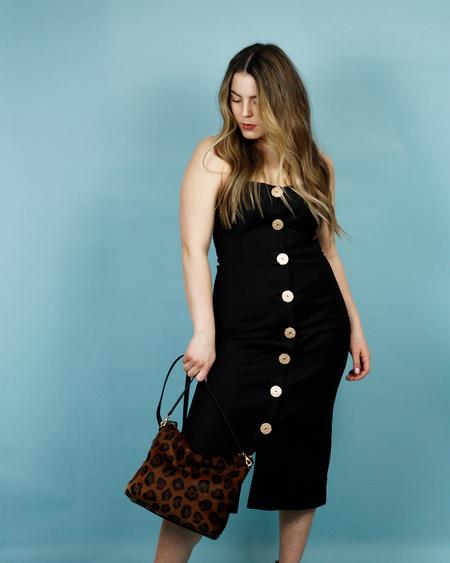 Finders Keepers Pompeii Dress - BLACK