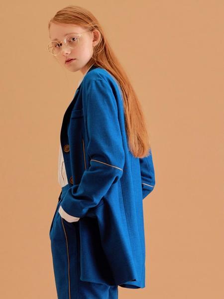 CITYBREEZE Boyfit Jacket - Blue
