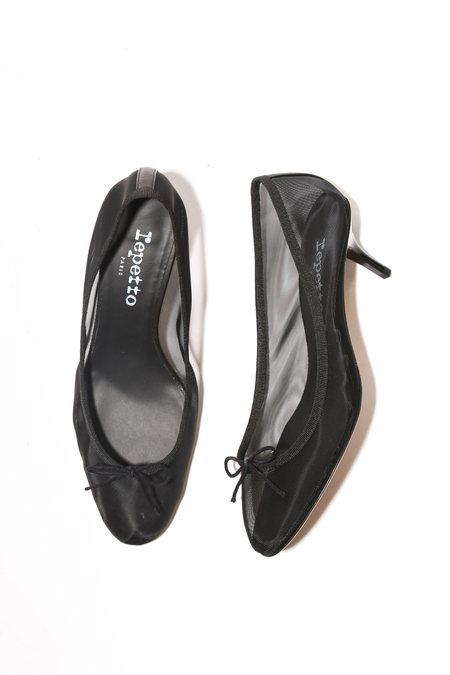 Repetto Gisel Ballerina Pump - Noir
