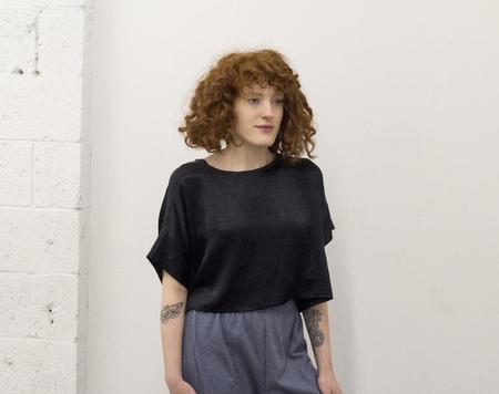 aleur Becky Top - black