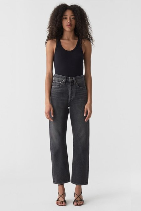 Agolde 90's Mid Rise Loose Fit Jeans - Starship