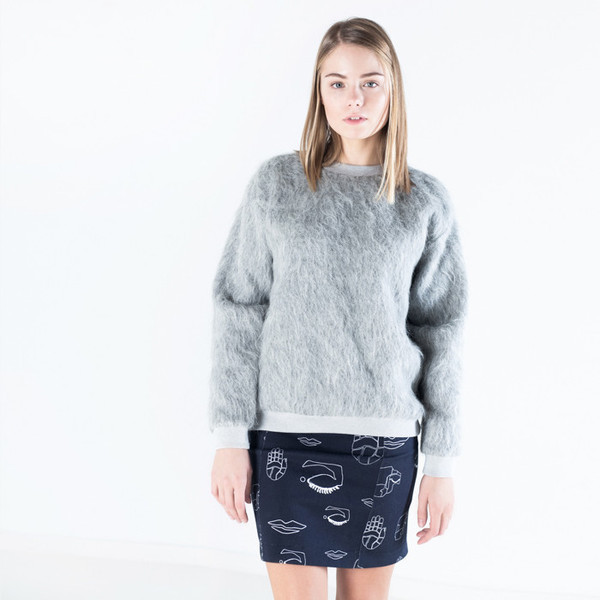 Nanushka Apis Fur Sweater