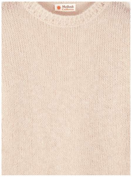 Mollusk Nest Sweater - Blush